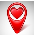Love Map Pointer vector image vector image