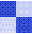 set eastern ethnic geometric patterns vector image