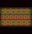 Thai pattern sarong vector image vector image