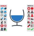 Remedy Glass Icon vector image