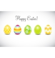 Beautiful Easter Egg Background vector image