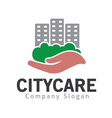 City Care Design vector image