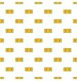 Football score pattern cartoon style vector image vector image