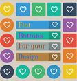 Medical heart Love vector image