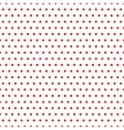 Polka dot red seamless pattern vector image vector image