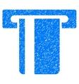 ATM Terminal Grainy Texture Icon vector image vector image