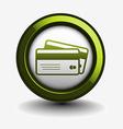 cards icon design vector image