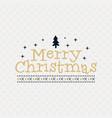 merry christmas season graphic print t shirt vector image vector image