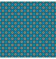 Oriental blue pattern vector image