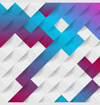 abstract technology geometric mosaic background vector image vector image
