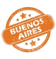 Buenos Aires rubber stamp vector image