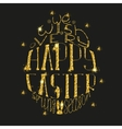 Happy Easter lettering banner vector image vector image
