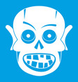 living dead icon white vector image vector image