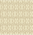 Ornate weave background Seamless pattern vector image vector image