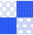 set of classic Greek geometric patterns vector image vector image