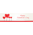 Valentine Design Background vector image vector image