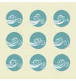 Wave vector image vector image