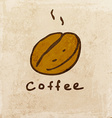 Coffee Sign Cartoon vector image vector image