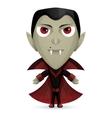 Dracula Happy vector image