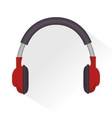 headphones sound education online icon vector image