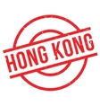 Hong Kong rubber stamp vector image