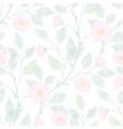 leaves needlework floral vector image vector image