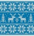 Sweater with deer vector image vector image