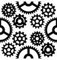 gear mechanics gearing web vector image