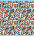 abstract seamless pattern bright geometric vector image vector image