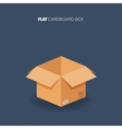 Carton cardboard box Delivery and packaging vector image vector image