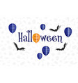 happy halloween holiday sale composition 03 vector image vector image