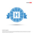 helipad simple flat icon vector image
