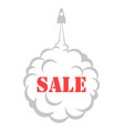 simple sale banner vector image