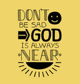 biblical background with a smile face and rays of vector image vector image