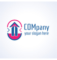Education information or building company logo ic vector image vector image