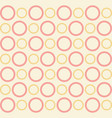infinity circle repeating seamless pattern design vector image vector image