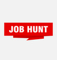 job hunt vector image vector image