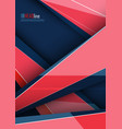 modern cover template vector image vector image