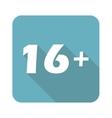 Square 16 plus icon vector image vector image