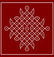 traditional indian folk art - known as rangoli