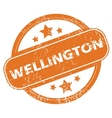Wellington rubber stamp vector image