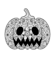 Pumpkin Hand drawn Helloween vector image