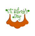 saint patricks day banner vector image