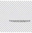 transparent background vector image vector image