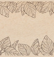 vintage old paper texture background with vector image vector image