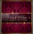 Christmas GoldFrame vector image
