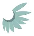 Blue wing of bird icon cartoon style vector image vector image