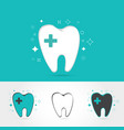 dental logos templates vector image
