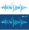 equalizer colorful musical bar set vector image vector image