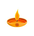 india candlestick candle fire vector image vector image